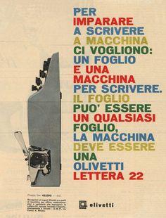 Olivetti lettera 22, 1959
