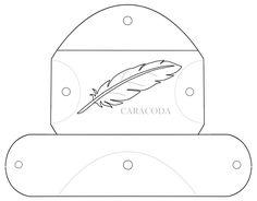 Очечник или чехол из кожи своими руками Мастер класс работа с кожей Leather pag tutorial DIY pattern