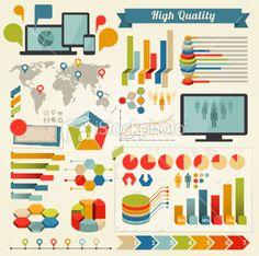 Infographics Elements Royalty Free Stock Vector Art Illustration Free Vector Art, Infographics, Royalty, Kids Rugs, Abstract, Illustration, Image, Royals, Summary