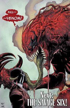 Venom vs Toxin  CARNAGE MY BABY :D