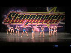 Big City Dance Center-Lets Have A Kiki- Starpower-Junior Sm. Group Jazz - YouTube