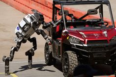 Transforming robot crowned the winner of DARPA's Robotics Challenge | The Verge