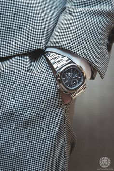 Stunning Patek Philippe Nautilus 5990.More of our footage atWatchAnish.com.