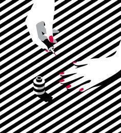 """Malika Favre é uma artista (designer/ilustradora) francesa que atualmente mora em Londres. Os clientes de Malika incluem The New Yorker, Vogue, BAFTA, Sephora e Penguin Books, entre muitos outros. Ela é reconhecida porseu estilo minimalista ousado – muitas vezes descrito como """"Pop Art se encontra como Op Art"""" – éalgo único e inconfundível, tanto que […]"""