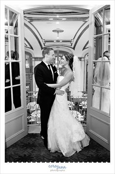 Wedding portrait at the Tudor Arms Hotel in Cleveland, Ohio.  Free to use if staying or hosting an event, inquire for prices.