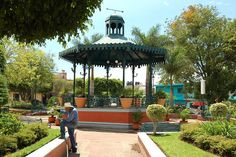 Ajijic Square, Mexico