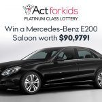 Support Act For Kids And Win A Mercedes-Benz