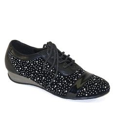Love this Black Sparkle Sneaker on #zulily! #zulilyfinds http://www.zulily.com/invite/kripley070