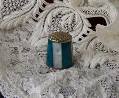 Mother of Pearl Thimble by cynthiasattic on Etsy, $29.00