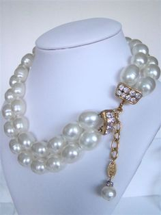 Chanel 2-strand Baroque Pearl Necklace