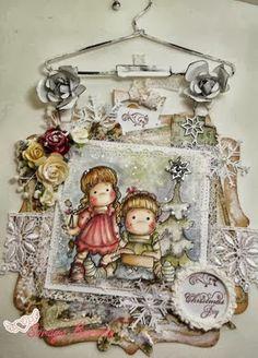 A Christmas Card Hanger