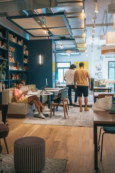 Inspiring coworking community 💻 #coworkingspace #coworking #coworkingcommunity #coworkingbarcelona Barcelona, Coworking Space, Interior Inspiration, Community, Interiors, Table, Furniture, Design, Home Decor