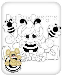 Digi Bee Girl