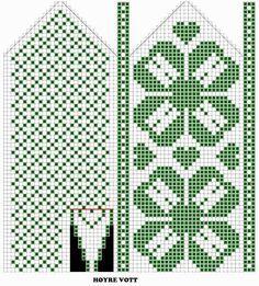 Ravelry: / mittens by Astrid Wehn Crochet Mittens Free Pattern, Knit Mittens, Crochet Chart, Knitted Gloves, Knitting Charts, Knitting Stitches, Knitting Yarn, Hand Knitting, Knitting Patterns