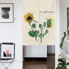 "Japanese Noren Doorway Curtain / Tapestry 33.5"" Width x 47.2"" Long, Ca"