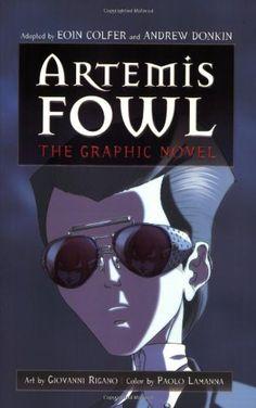 Artemis Fowl: The Graphic Novel by Eoin Colfer http://www.amazon.com/dp/0786848820/ref=cm_sw_r_pi_dp_siaMtb16JM7M5GEA