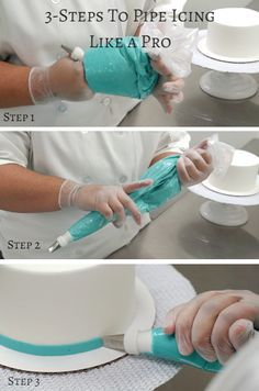 Learn to pipe icing like a pro in just 3 simple steps!