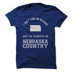 Kansas For ๏ Nebraska CountryGet this shirt and represent by wearing it proudly!alaska fans, nebraska huskers