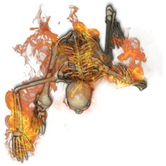 Skeleton Flaming 1[heat,fire,flame,flaming,burning by Madcowchef on DeviantArt