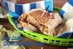 Crispy Chipotle Chicken Wraps