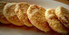 Crunchy chewy oats raisin cookies.