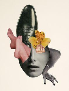 Collage retro par Rebeka Elizegi
