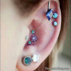 #ear #jewelry #cartilage #piercing