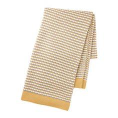 Manta ORMHASSEL (cinza/amarelo): IKEA (19,99€)