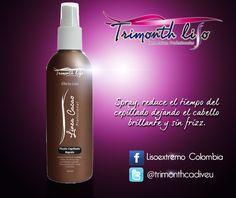 El fluido es un producto ideal para reducir el tiempo del cepillado. Disponible en presentación de 250 ml.