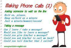 Forum | ________ Learn English | Fluent LandMaking Phone Calls | Fluent Land