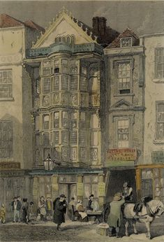 Paul Pindar's house. Paul Pindar was a City merchant who became British Consul to Aleppo and subsequently James I's Ambassador to Constantinople. --between 1617-18 it served as the London abode of Pietro Contarini, Venetian Ambassador to the Court of St James./Spitalfields Life