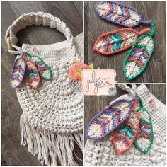 Crochet Feathers Pattern Free Tutorial All The Best Ideas