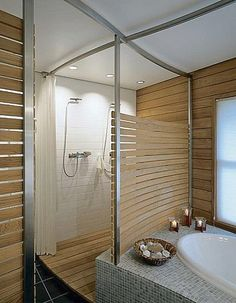 metal and wood partition