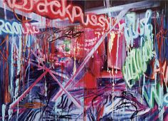 Rosson Crow - Massive canvas paintings