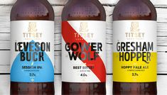 PB Creative Delivers a Rich and Compelling Brand Story for Titsey Brewing Co / World Brand & Packaging Design Society Beverage Packaging, Brand Packaging, Beer Brands, Brand Story, Brewing Co, Bottle Design, Packaging Design Inspiration, Craft Beer, Brewery