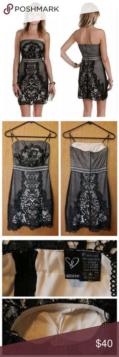 Beso Black Formal Dress New. Never worn. Excellent condition. The bust is big on me. Windsor Dresses