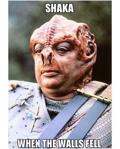 Star Trek TNG Darmok and Jalad at Tanagra. His eyes wude open. Star Trek Episodes, Star Trek Characters, Sci Fi Shows, Star Wars, Starship Enterprise, Star Trek Ships, Star Trek Universe, Love Stars, To Infinity And Beyond