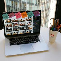 The Adobe Creative Cloud workstation