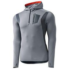 adidas Techfit Climawarm Quarter-Zip Hoodie grey