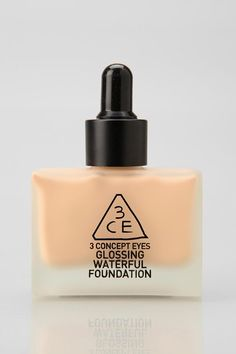 3 Concept Eyes Glossing Waterfull Foundation -- Great for a glowing, natural finish! Combine it with your favorite concealer for extra coverage. #urbanoutfitters