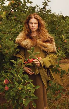 "Natalia Vodianova in ""The Fall Classic"" by Annie Leibovitz for Vogue, October 2014"