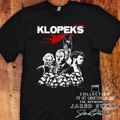 "The Burbs Designer T-shirt ""KLOPEKS"" Artwork of Jared Swart pop art series 3 Sizes S M L XL 2XL 3XL 4XL 5XL also in Ladies fit S-XL by JaredSwartArtwork on Etsy https://www.etsy.com/listing/265511021/the-burbs-designer-t-shirt-klopeks"
