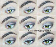 natalia-lily: Beauty Blog: Makijaż: Chłodny brąz z efektem mikrodrobinek - codzienny makijaż (krok po kroku)