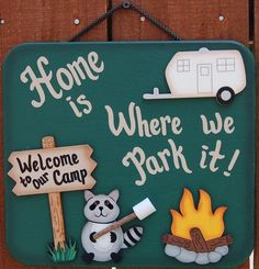 Camping Signs On Pinterest Camper Signs Camping And