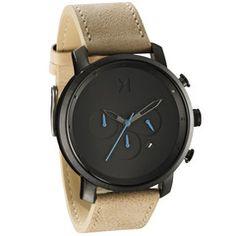 Chrono Gun Metal/Sandstone Leather   MVMT Watches