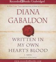 Written in my own heart's blood