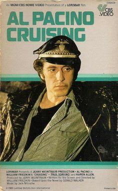 Cruising (1980) starring Al Pacino — MGM/CBS Home Video Box