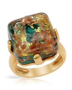 VENETIAURUM Made In Italy Ring Made In Gold Plated Silver