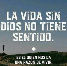 No somos nada sin Ti Señor