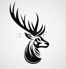 tribal stag tattoo - Google Search